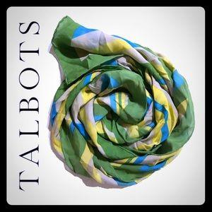 NWT Talbots silk scarf